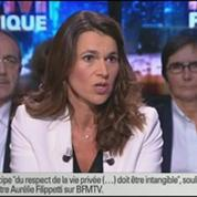 BFM Poltique: L'interview d'Aurélie Filippetti par Apolline de Malherbe 1/6