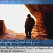 BFMTV Replay: Biarritz: une vague a emporté une femme