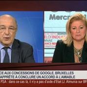 Joaquin Almunia, commissaire européen en charge de la concurrence, dans Le Grand Journal – 4/4