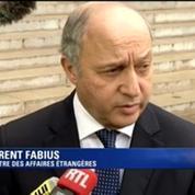 Laurent Fabius prêt à examiner la perspective de sanctions à l'encontre de l'Ukraine