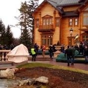 L'incroyable résidence de Ianoukovitch abandonnée par la police