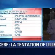 BFM Story: Municipales à Lille: les enjeux de la campagne de Jean-René Lecerf