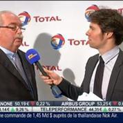 Des résultats annuels 2013 en baisse pour Total: Christophe de Margerie, dans Intégrale Bourse –