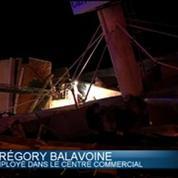 Nice: deux blessés liés à l'effondrement d'un pan de toiture du magasin Carrefour