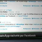 Top Média : quand Twitter parle du rachat de WhatsApp par Facebook