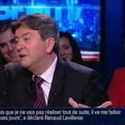 BFM Politique: L'interview de Jean-Luc Mélenchon par Anna Cabana 3/6