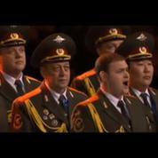 Sotchi : les choeurs de l'armée rouge chantent