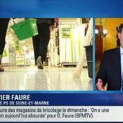 BFM Story: Travail dominical: les magasins de bricolage devront fermer le dimanche