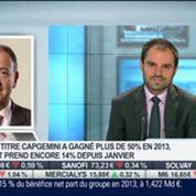 Des résultats 2013 supérieurs aux attentes pour Capgemini: Paul Hermelin, dans Intégrale Bourse –