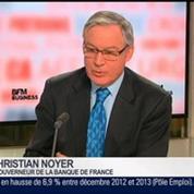 Christian Noyer, gouverneur de la Banque de France, dans Le Grand Journal – 1/4