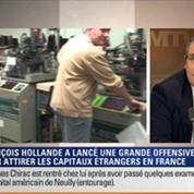 Le Soir BFM: François Hollande a-t-il su charmer les investisseurs étrangers lors du conseil stratégique de l'attractivité ? 4/6