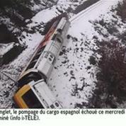 Les images exclusives du déraillement d'un train touristique
