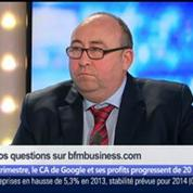 François Hollande se rend-il dans un État voyou en allant chez Google ?, dans Les Décodeurs de l'éco 4/5
