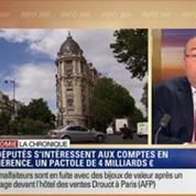 L'Éco du soir: La proposition de loi PS sur les comptes bancaires inactifs et contrats d'assurance-vie en déshérence