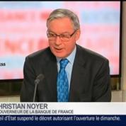 Christian Noyer, gouverneur de la Banque de France, dans Le Grand Journal – 4/4