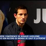 Renaud Lavillenie : «Je suis obligé de déclarer forfait pour les Mondiaux»