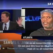 Samuel L. Jackson en colère contre un journaliste le confondant avec Laurence Fishburne