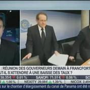 Le marché hésite avant la réunion de la BCE: Sébastien Galy, dans Intégrale Bourse –