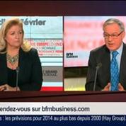 Christian Noyer, gouverneur de la Banque de France, dans Le Grand Journal – 3/4
