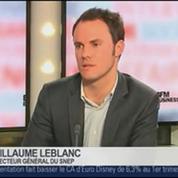Guillaume Leblanc, directeur général du Syndicat national de l'édition phonographique, dans Le Grand Journal – 4/4