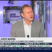 Immobilier: Légère remontée des taux: Olivier Marin, dans Intégrale Placements –