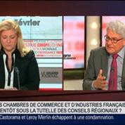 André Marcon, président de CCI France, dans Le Grand Journal – 2/4