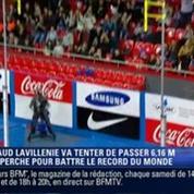 Renaud Lavillenie bat le record du monde de saut à la perche avec 6,16 m