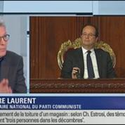 Pierre Laurent: l'invité de Ruth Elkrief