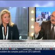 Luc Bérille, UNSA, dans l'invité de BFM Business