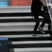 Un escalier musical à la gare Montparnasse