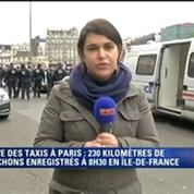 Grève des taxis: porte Maillot, l'accès au périphérique se fait au compte-gouttes