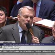 Assemblée : l'UMP interpelle Ayrault sur la politique familiale du gouvernement