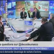 Immigration: faut-il fermer les frontières ?, dans Les Décodeurs de l'éco 5/5
