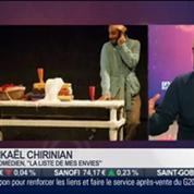 La sortie du jour: Mikaël Chirinian, comédien pour La Liste de mes envies, dans Paris est à vous –
