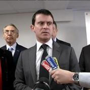 Saisie record de drogue: Valls félicite les enquêteurs à Nanterre