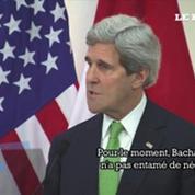John Kerry dénonce l'attitude de Damas dans les négociations de paix