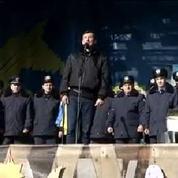 Ukraine: les manifestants se méfient de l'accord et restent mobilisés à Kiev