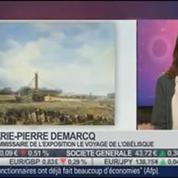 La sortie du jour: Marie-Pierre Demarcq, commissaire de l'exposition Le Voyage de l'Obélisque, dans Paris est à vous –
