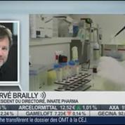 Innate Pharma rachète un anticorps à Novo Nordisk: Hervé Brailly, dans Intégrale Bourse –