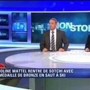 JO Sotchi : Coline Mattel, «super heureuse de cette médaille»