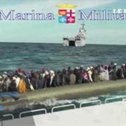 Italie : plus d'un millier de migrants secourus au sud de la Sicile