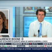 Analyse de la situation macro-économique aux Etats-Unis et en Europe: Laurence Boone, dans Intégrale Bourse –