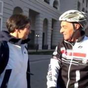A 68 ans, il rallie Sotchi à vélo en partant de Courchevel