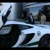 L'extravagante voiture McLaren de la police de Dubaï