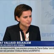 Najat Vallaud-Belkacem: l'invitée de Ruth Elkrief