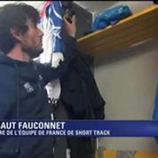 A la découverte de Fauconnet et du short-track