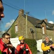Dans le Morbihan, la problématique évacuation de 600 cochons piégés par les eaux