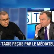 BFM Story: Première rencontre de l'intersyndicale des taxis en grève et le médiateur nommé par le gouvernement