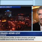 Bernard-Henri Lévy: l'invité de Ruth Elkrief