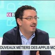 Les nouveaux métiers des applications mobiles: Christophe Shaw, Jérôme Stioui et Patrice Cardinaud, dans 01Business – 3/4